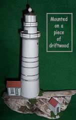 Boston Harbor Lighthouse paper model