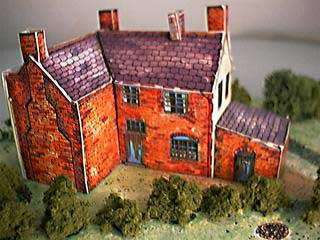 Bottle and Glass Inn paper model
