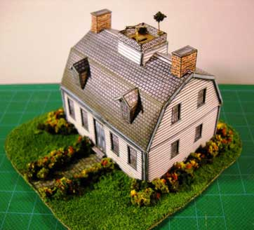 Captain's House paper model