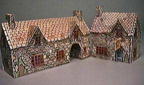 paper model of The Coaching Inn