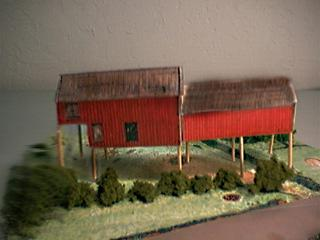 picture of the Beamish Coal Mine paper model