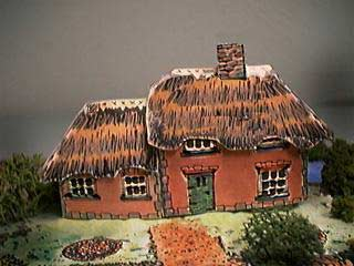 Cob Thatched Cottage paper model