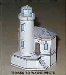 Coquille River Light House at Brandon