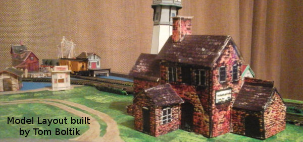 Tom Boltik's build of the distillery model