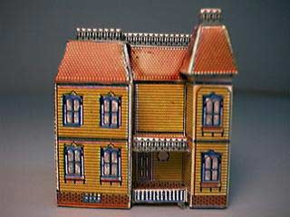 Paper model of the Fidlersgreen Dolls House
