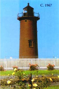 East Chop Lighthouse in 1967