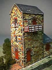 Engine House paper model