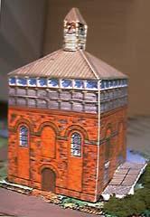 Foredown Tower paper model