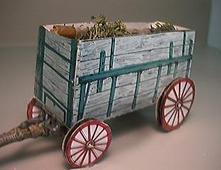 Freight Wagon FG paper model