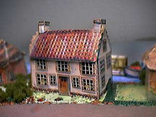 Gable House paper model