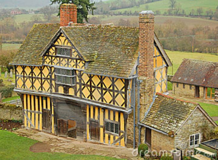 Gate House at Stokesay Castle