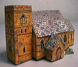 English Gothic Church