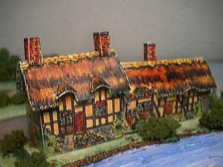 paper model of Anne Hathaway's Cottage