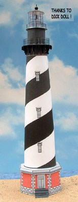 Dick Doll's Cape Hatteras Lighthouse