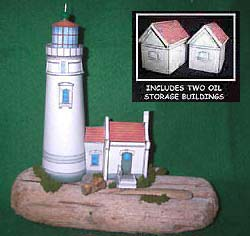 picture for the FG paper model of the Heceta Head Light House