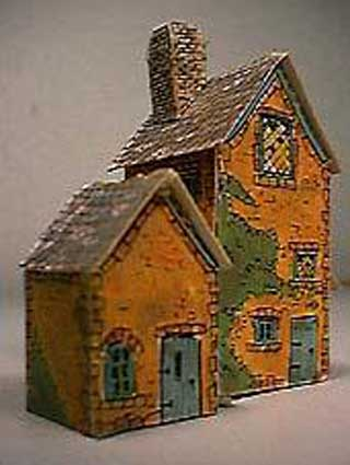 paper model of Winter Hideaway