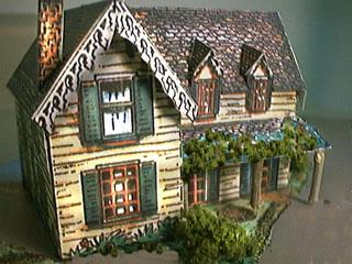 General Vallejo's California Homestead paper model