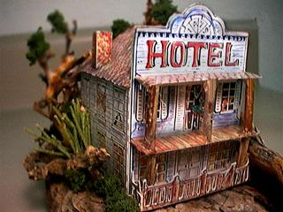 Bodie Hotel paper model