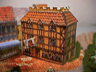 The Red Lion Inn paper model