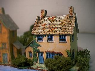 paper model of Lockeepers Cottage