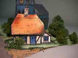 photo for Magpie House paper model