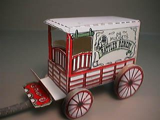Medicine Wagon paper model