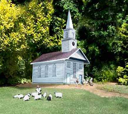 Meeting House downloadable cardmodel