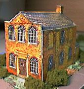 paper model of Methodist Chapel