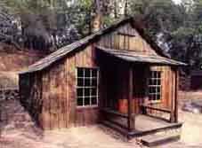 Miner's Cabin paper model