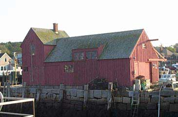motif #1 fishing shack little red rockport