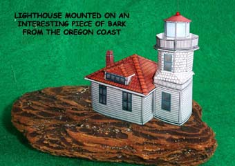 Mukilteo Lighthouse paper model