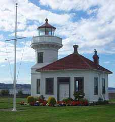 Mukilteo Lighthouse paper model, Mukilteo Washington