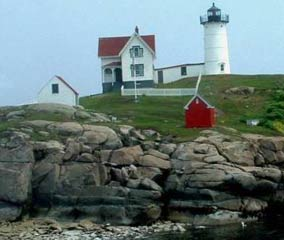 Cape Neddick (Nubble) Light House York, Maine paper model