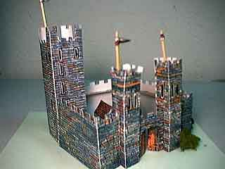 Norman Castle paper cardmodel