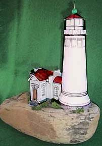 North Head Lighthouse paper model