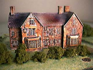 Old new Inn paper model