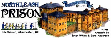 Northleach Prison paper model