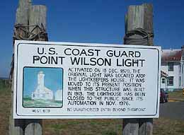 Point Wilson keep out sign