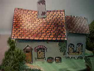 Village Pub paper model