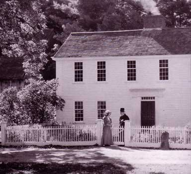 saltbox house parsonage