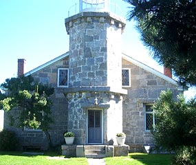 Stonington Lighthouse front view