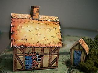 Thatched Cottage model