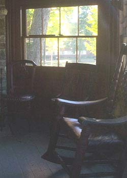 chair in mark twain study