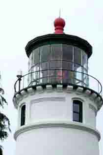 The Umpqua Light house-top