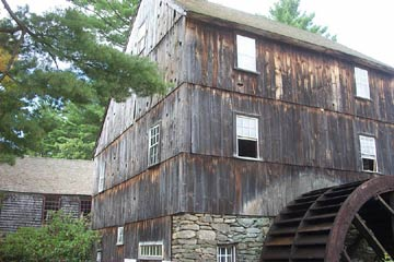 grist watermill new england