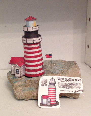 Dennis's Quoddy Lighthouse Cardmodel build
