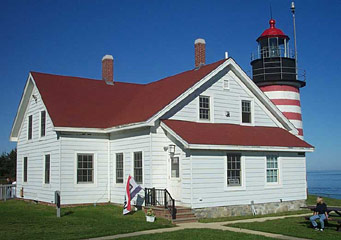 West Quoddy Light House keeper dwelling