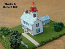 yaquina bay lighthouse -doll