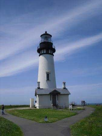 Yaquina Head Lighthouse paper cardmodel