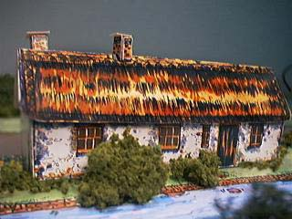 Yeomans Cottage paper model